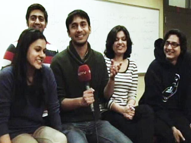 Video : Indian students at Columbia University launch website on Lok Sabha election