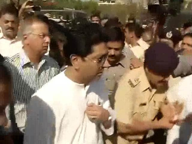 Video : Politician Raj Thackeray released after being detained for toll protest