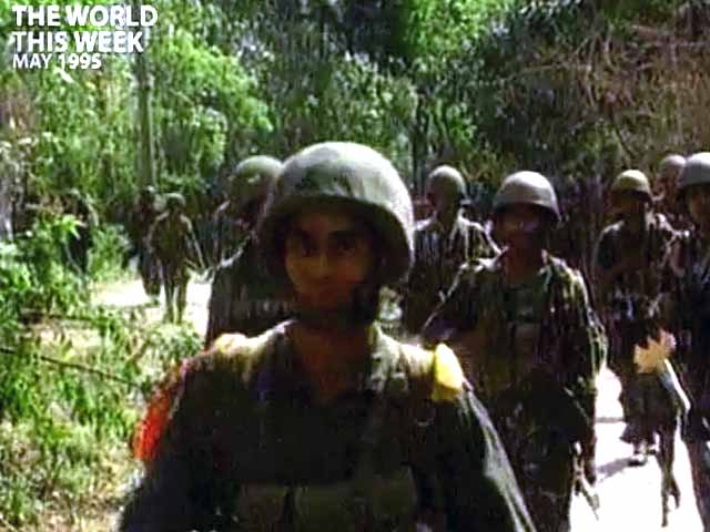 Video : Sri Lanka dangerously close to civil war once again (Aired: May 1995)