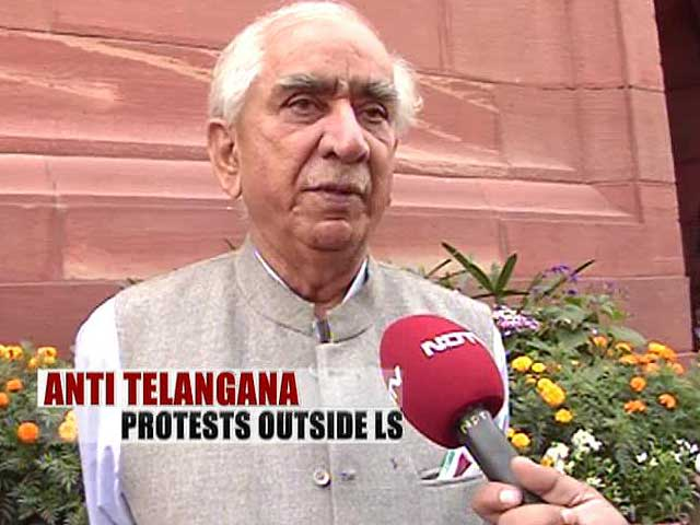 Video : Telangana clashes in Parliament disgraceful, unforgivable: Jaswant Singh