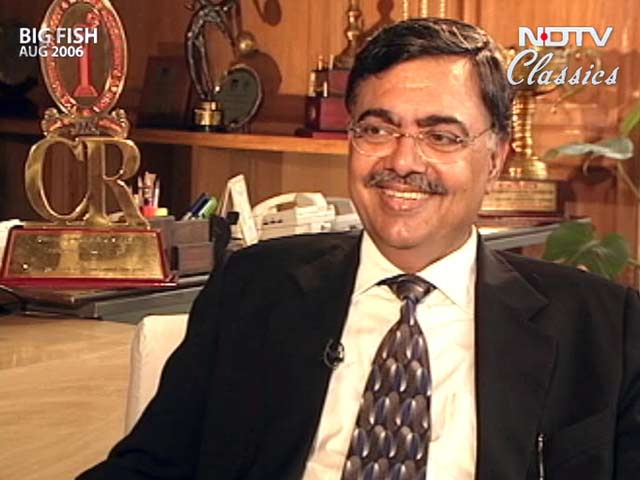 Video : Big Fish: RSP Sinha of MTNL (Aired: August 2006)