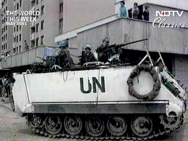 Video : The World This Week: UN's little success on another peacekeeping mission (Aired: May 1995)