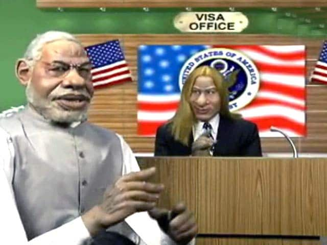 Video : Narendra Modi's unrelenting struggle to get a US visa