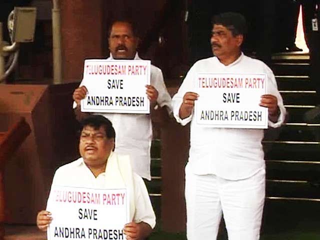 Video : Telangana Bill in Parliament today; Andhra Pradesh Chief Minister Kiran Kumar Reddy may resign
