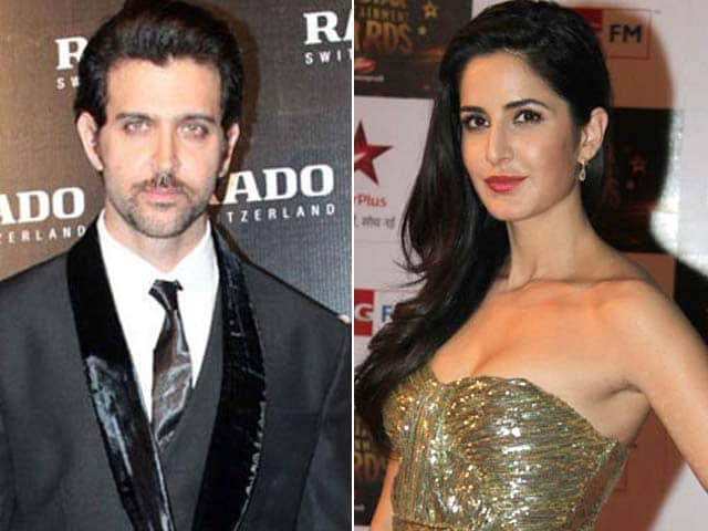 Hrithik, Katrina bond on Bang Bang sets