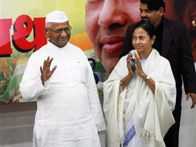 Video : Anna-Mamata alliance and the corruption question