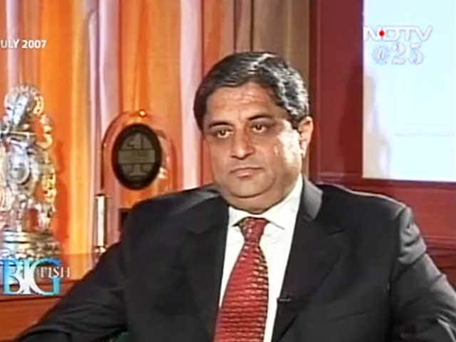 Video : Big Fish: HDFC bank's Aditya Puri (Aired: July 2007)