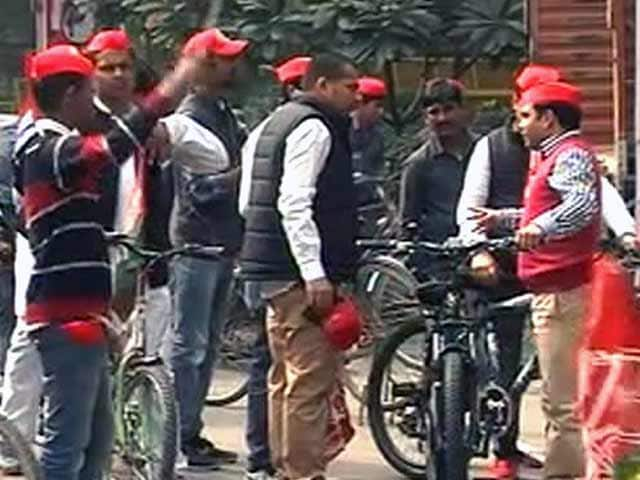 Videos : दिल्ली में समाजवादी पार्टी की साइकिल रैली