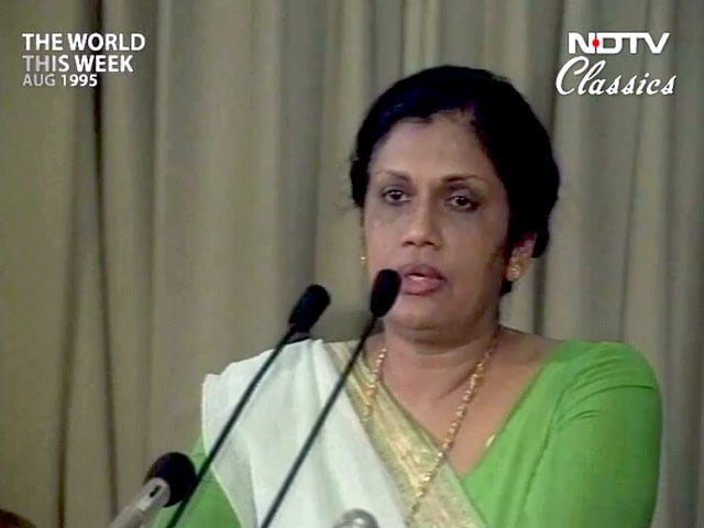 Video : The World This Week: Sri Lanka gets a new political package (Aired: August 1995)