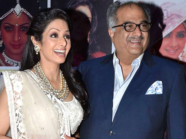 Video : Sridevi to star in husband Boney's film