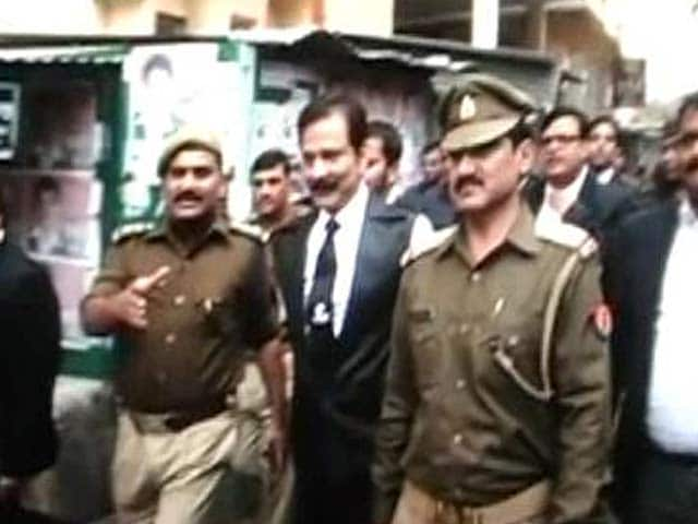 Video : Sahara chief sent to police custody till March 4