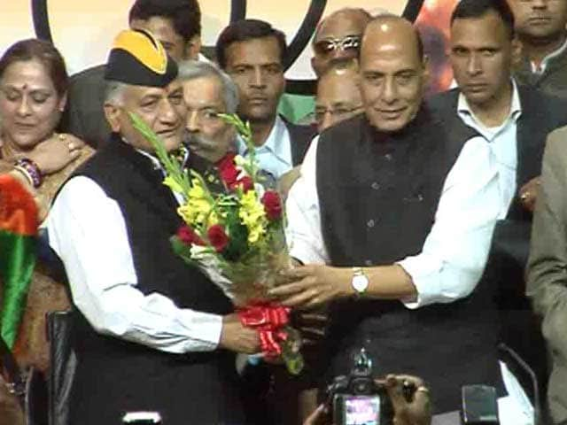 Video : Former Army Chief General VK Singh joins BJP, praises party