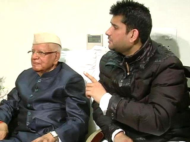Video : I accept that he is my son: ND Tiwari on Rohit Shekhar