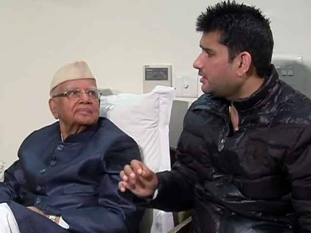 Video : आखिरकार एनडी तिवारी ने माना रोहित शेखर को बेटा