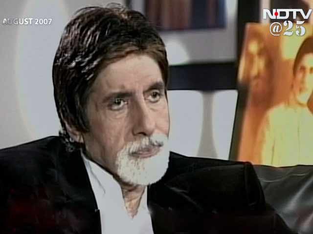 Video : Amitabh Bachchan unfazed by controversies, vendetta or critics (Aired: August 2007)