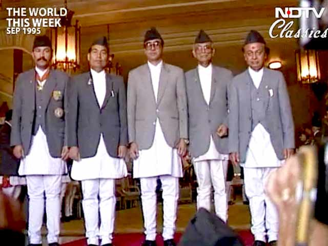 Video : The World This Week: Nepali Congress back in power (Aired: September 1995)