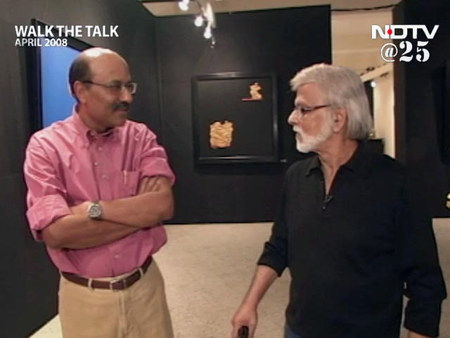Video : Walk The Talk with Satish Gujral (Aired: April 2008)