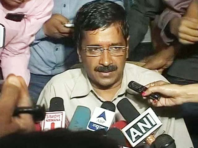 Video : I apologise for the violence: Arvind Kejriwal after clashes
