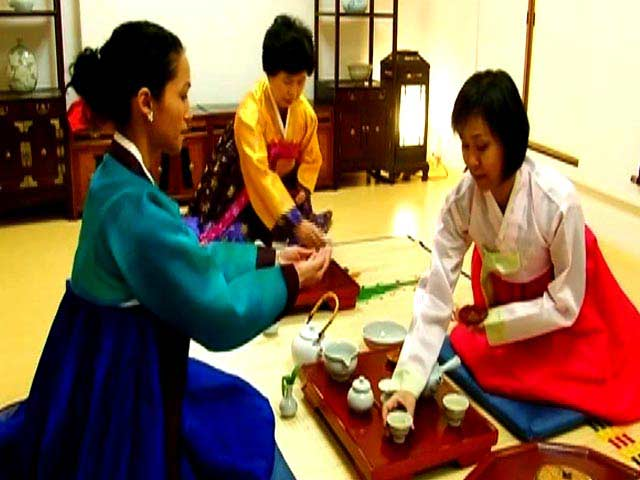 Video : Korean tea ceremony at the Korea House, Seoul