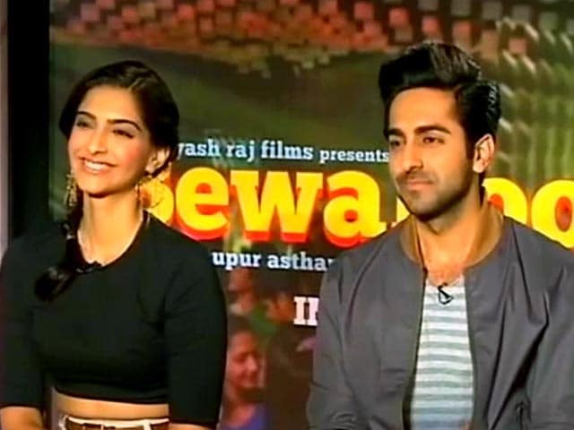 Sonam, Ayushmann on fashion and recession
