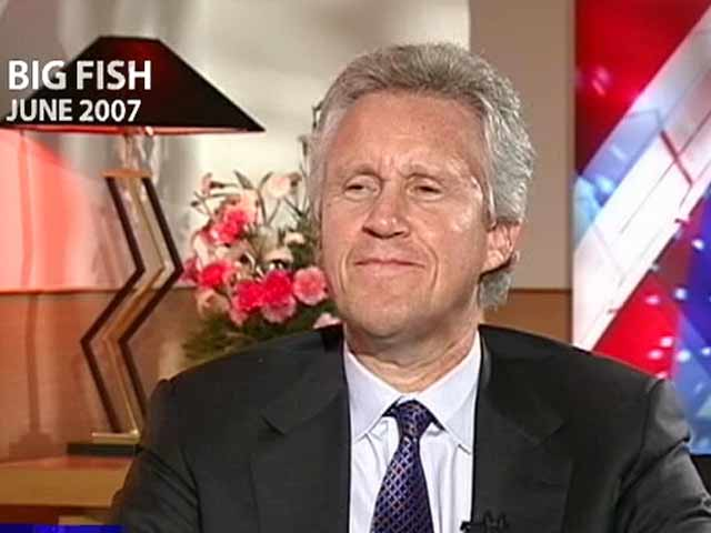 Video : Big Fish: India in takeoff stage, says GE chief Jeffrey Immelt (Aired: June 2007)