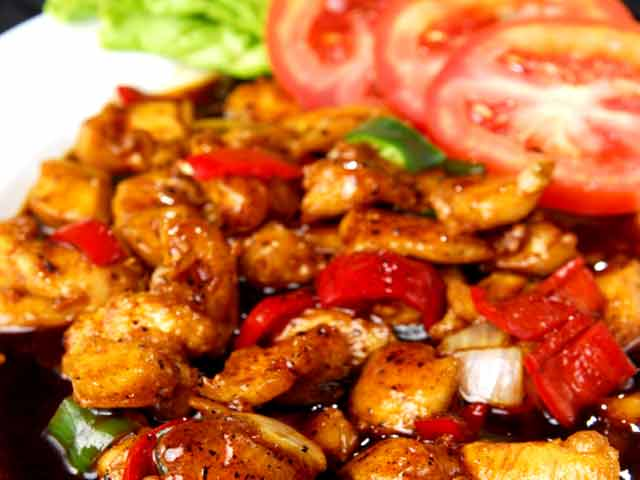 Stir fried lamb with fried rice ndtv food videos chinese chilli chicken forumfinder Image collections