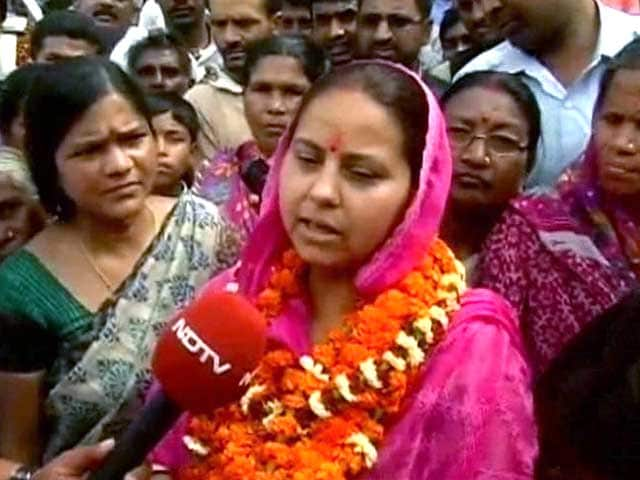 Video : Lalu's daughter preps to take on her 'uncles'