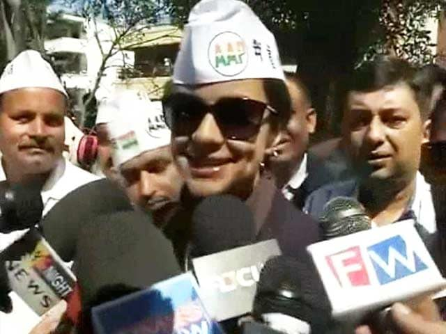 Video : Gul Panag, former Miss India, takes Aam Aadmi ticket to politics