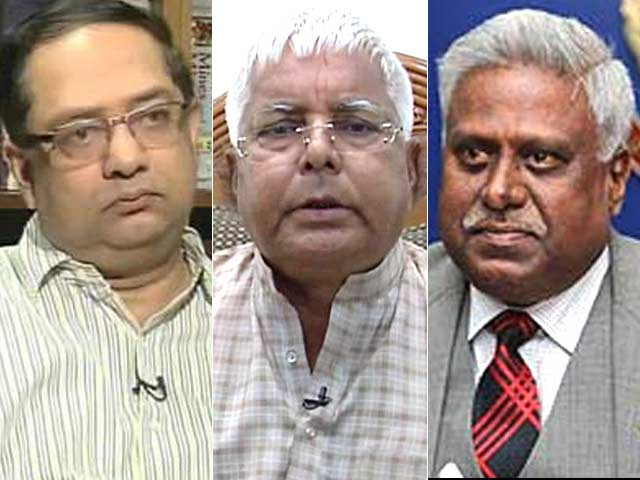 Video : Solicitor General vs CBI Director over dropping of cases against Lalu Prasad
