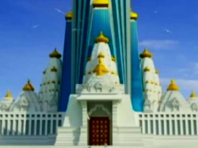 Video : मथुरा में बनेगा सबसे ऊंचा मंदिर
