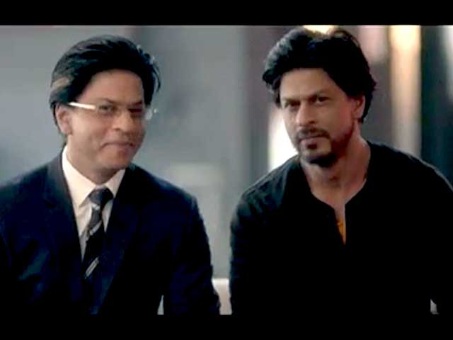 Video : Shah Rukh Khan gets into #WorkHardPlayHard mode