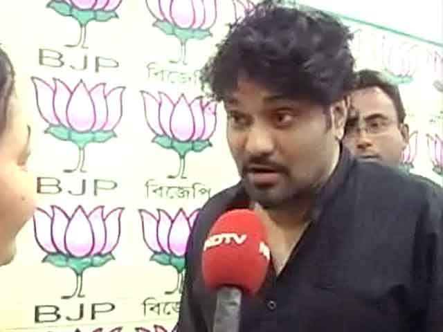 Videos : लोकसभा चुनाव : बाबुल सुप्रियो ने खास अंदाज में की वोट की अपील
