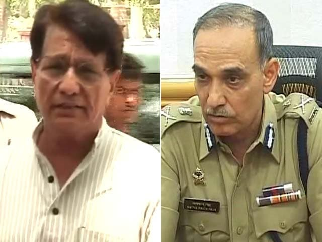 Video : The battle for Baghpat: Former top cop vs Ajit Singh