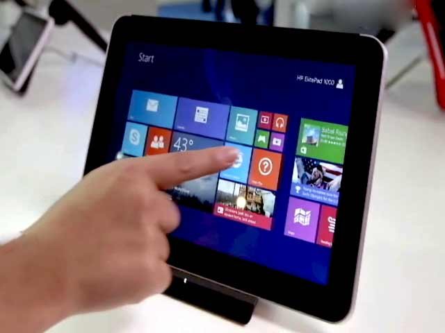 Video : Beginning of the end of tablets?