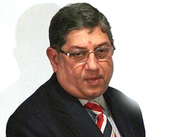 Video : 'If N. Srinivasan has to go as president, then why not shake up entire BCCI?'