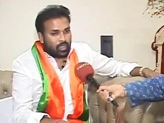 Video : Bellary's Sriramulu: Back contesting for the BJP
