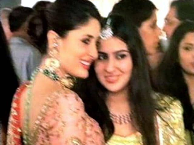 Video : Saif's daughter away from the arc-lights