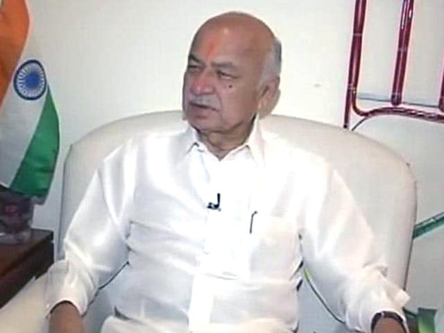 Video : Afzal Guru's execution could have been handled better: Sushil Kumar Shinde to NDTV