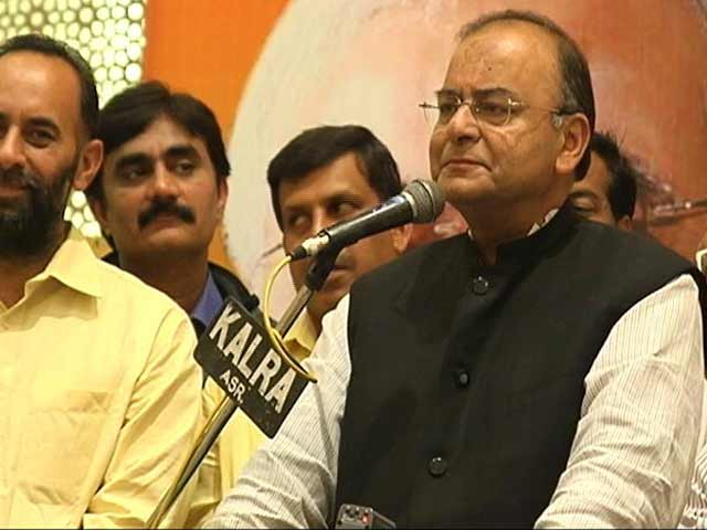 Video : Arun Jaitley, The Kingmaker, On His Amritsar Wager (Aired March, 2014)