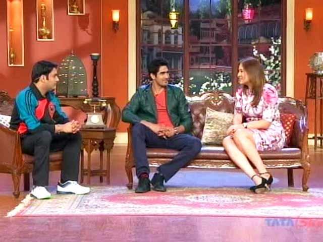 Video : The comic side of Jwala Gutta and Vijender Singh