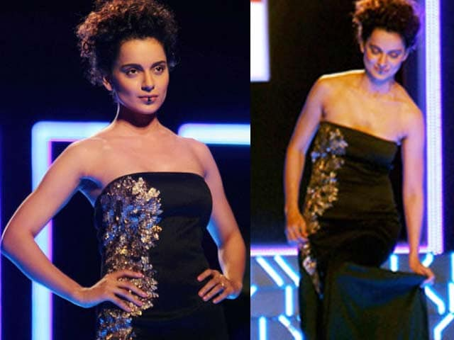 Video : <i>Queen</i> Kangana's oops! moment