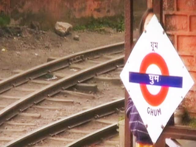 Video : Ghoom and its toy train