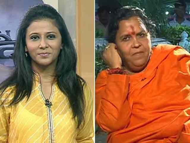 Video : मोदी की तारीफ को निंदा बना दिया : उमा भारती