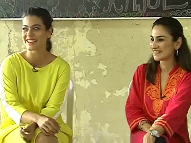 Video : Actress Kajol follows up on impact of our support girl child campaign