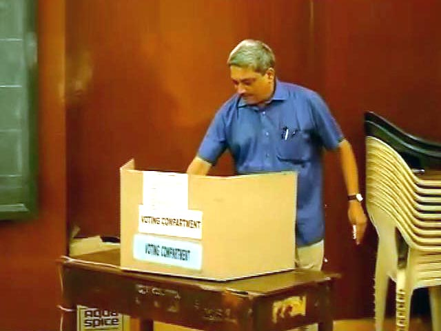 Video : Elections 2014: Voting on in seven constituencies in Goa, Assam, Tripura and Sikkim