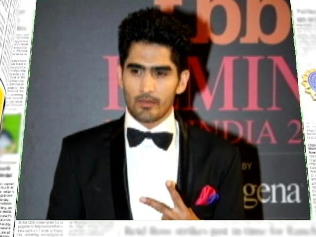 Video : From Olympic medallist to beauty contest judge: Vijender Singh, a man of many talents