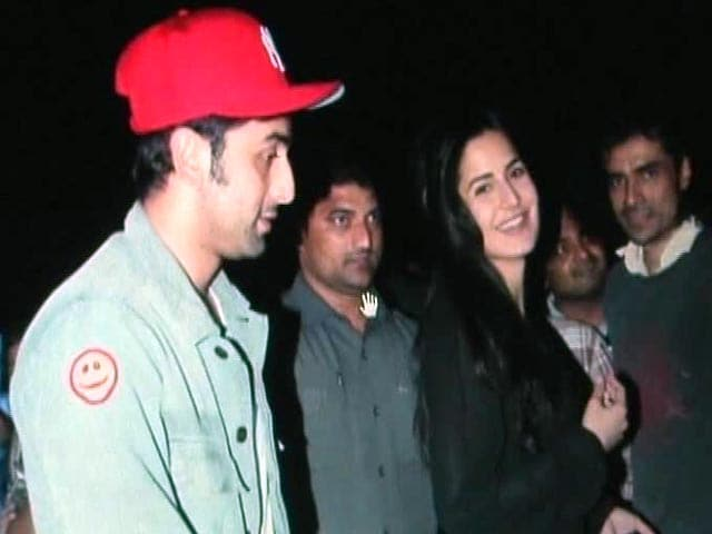 Video : Ranbir and Katrina back together