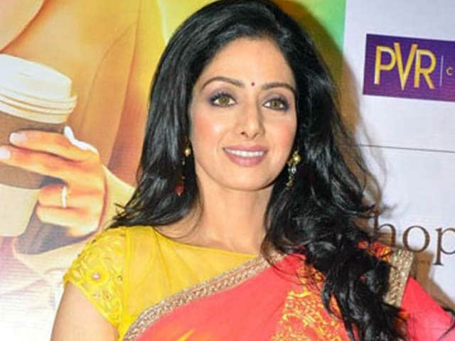 Video : Sridevi back to work