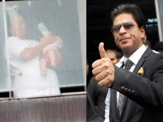 Video : SRK's son AbRam's first visit to IPL