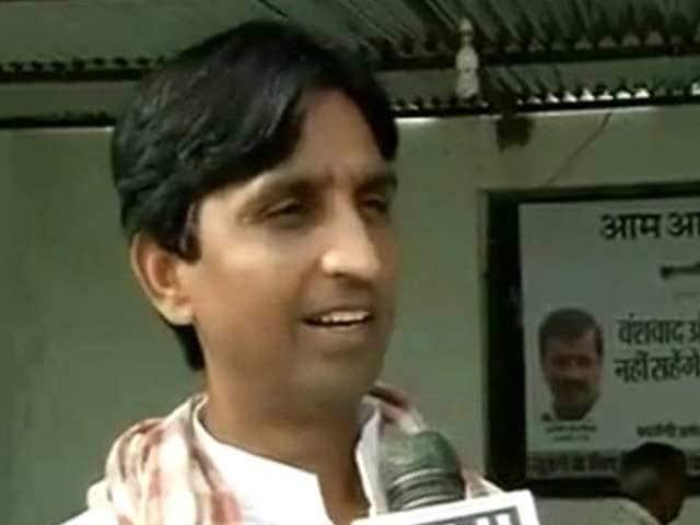 Video : AAP's Kumar Vishwas alleges 'death threat' in Amethi